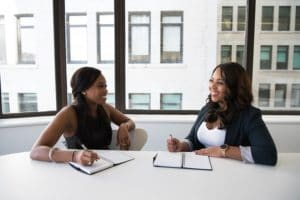 working with a staffing agency